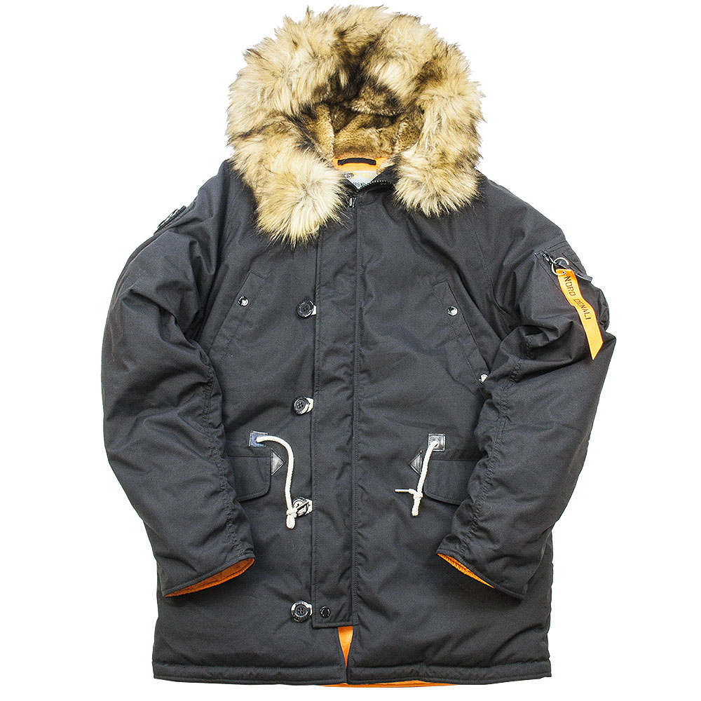 DENALI OXFORD Mk. 2.0 COMPASS BLACK / ORANGE